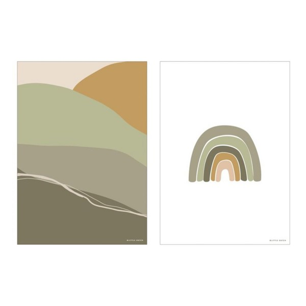 Poster A3 Horizon Olive