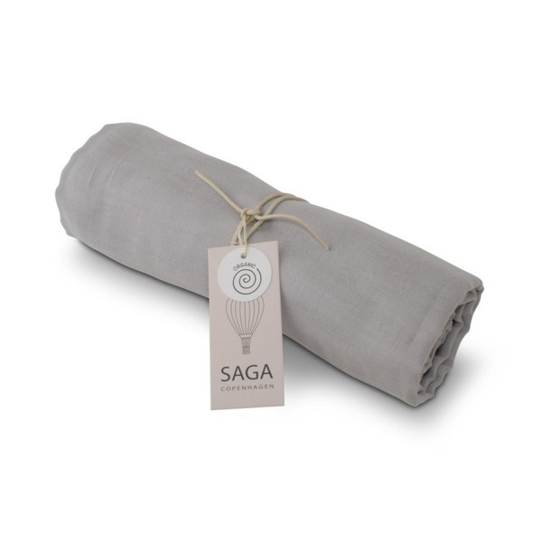 Pucktuch Hula Swaddle Silver Grey