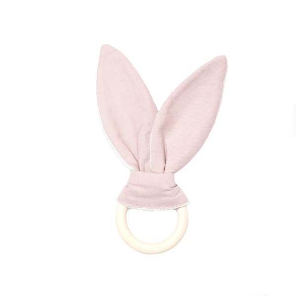 Beißring Hase rosa