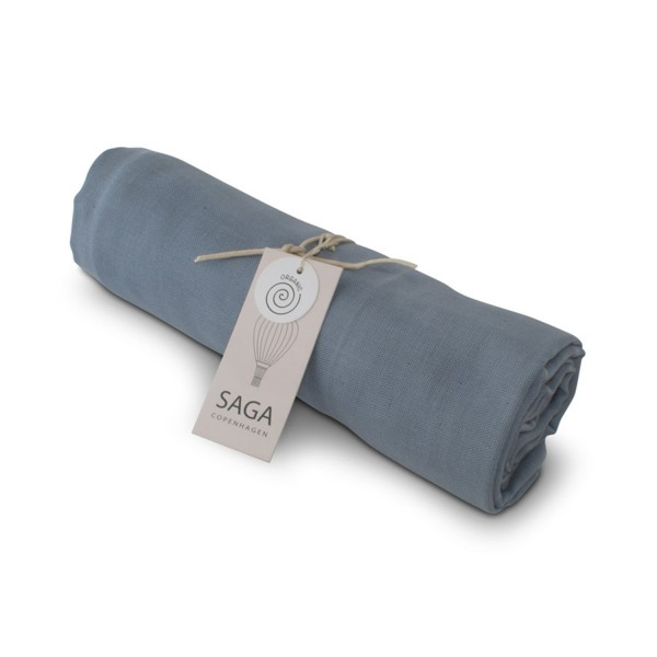 Pucktuch Hula Swaddle Quiet Blue